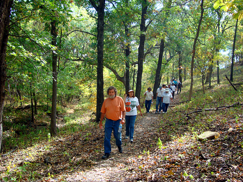 The Tallgrass Prairie Preserve Docent News for October 2011